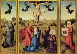 Триптих «Распятие». Рогир ван дер Вейдер.