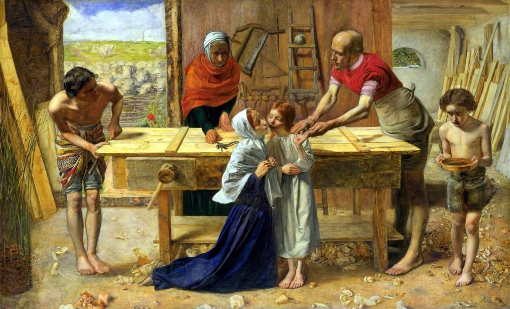 """""""Христос в родительском доме. Мастерская плотника"""""""
