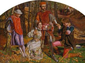 Валентин, спасающий Сильвию от Протея