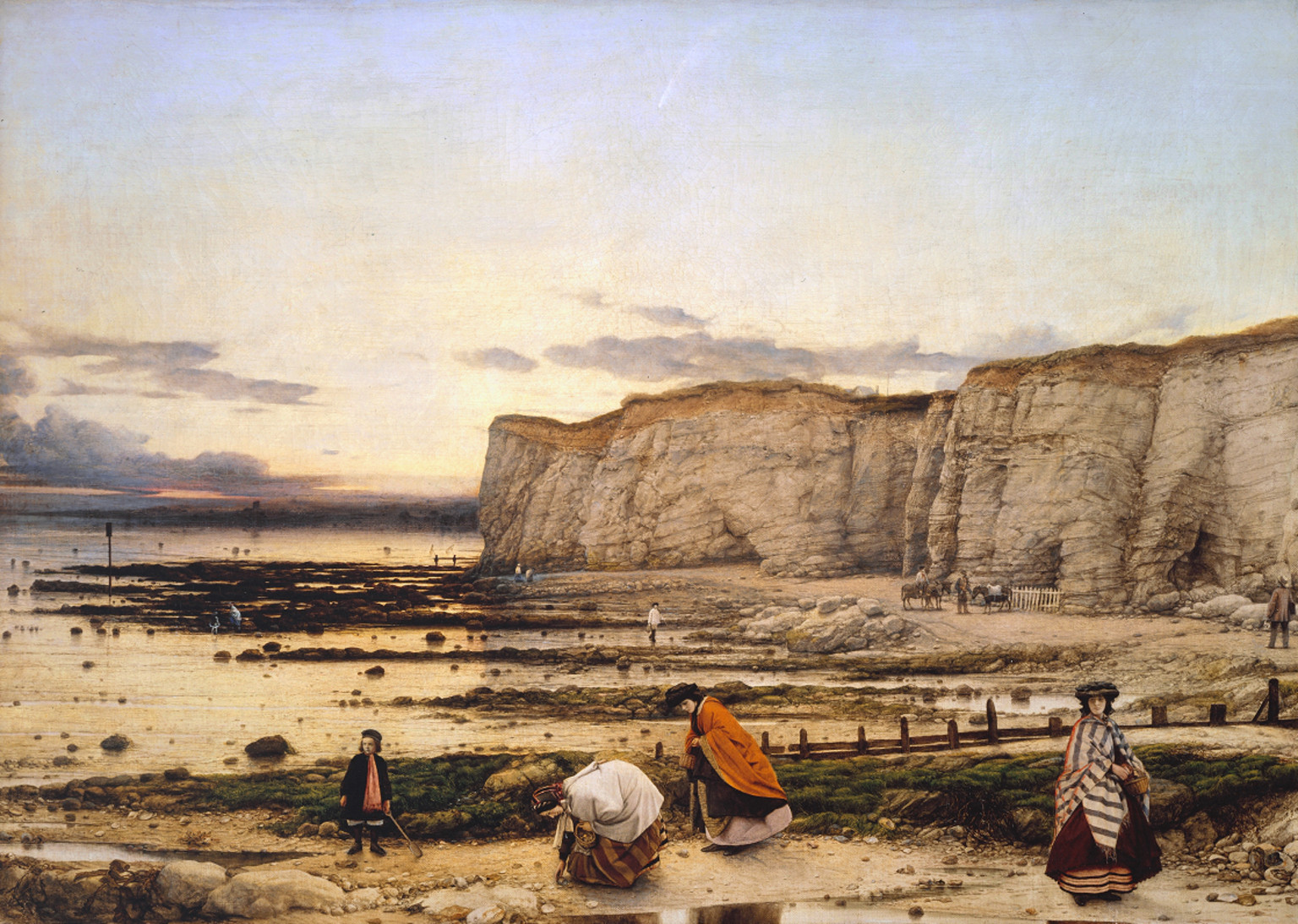 Залив Пигуелл в Кенте. Уильям Дайс