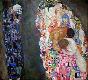 """""""Смерть и жизнь"""". Густав Климт."""