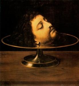 Андреа Соларио. Голова Иоанна Крестителя.