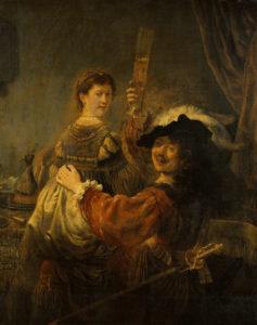 Рембрандт и Саския. Блудный сын в таверне