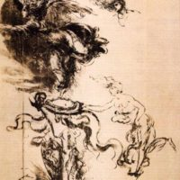 Аллегория победы и удачи. Леонардо да Винчи.