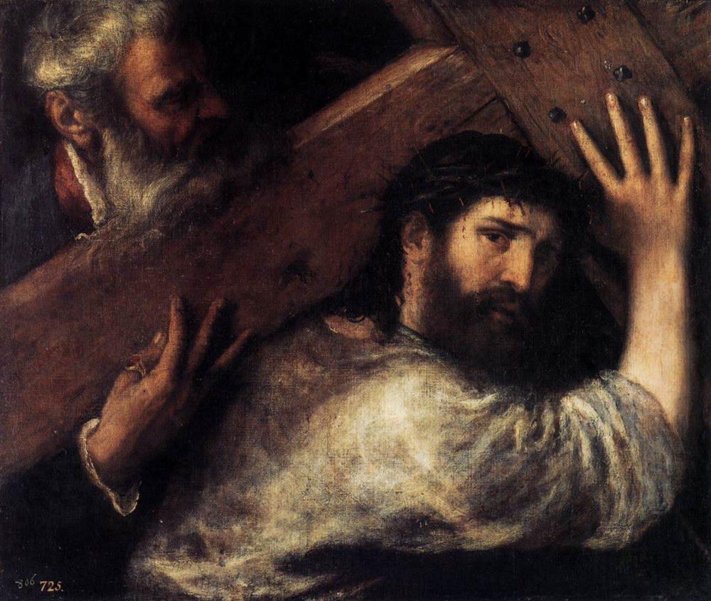 Несение Христом креста. Тициан.