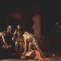 Усекновение головы Иоанна Крестителя. Караваджо.