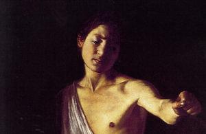 Давид с головой Голиафа