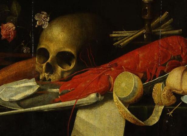 Натюрморт с черепом. Ванитас.