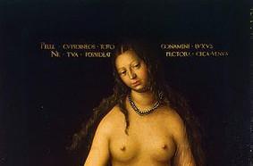 Венера и Амур. Фрагмент.