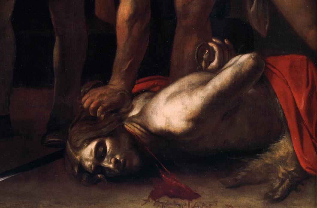Усекновение головы Иоанна Крестителя. Фрагмент.