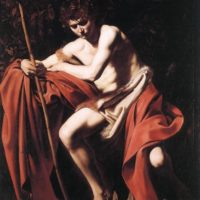 Иоанн креститель, Караваджо