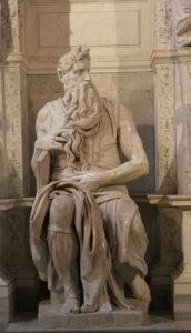 Моисей. Скульптура Микеланджело.