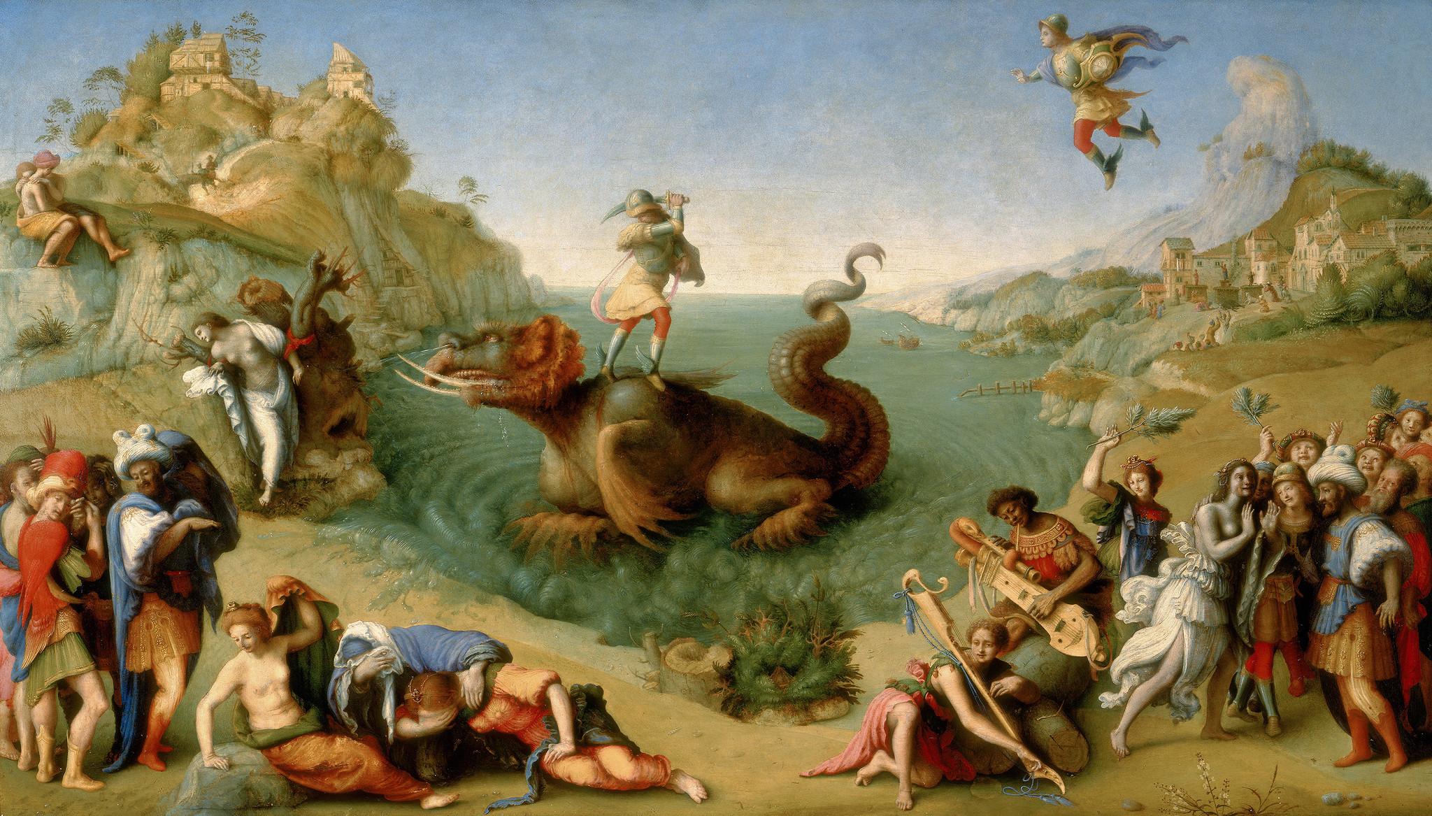 Пьеро ди Козимо. Персей и Андромеда.