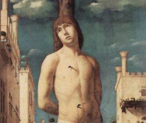 Святой Себастьян. Фрагмент.