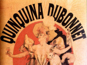 'Quinquina Dubonnet'. Жюль Шере. Фрагмент.