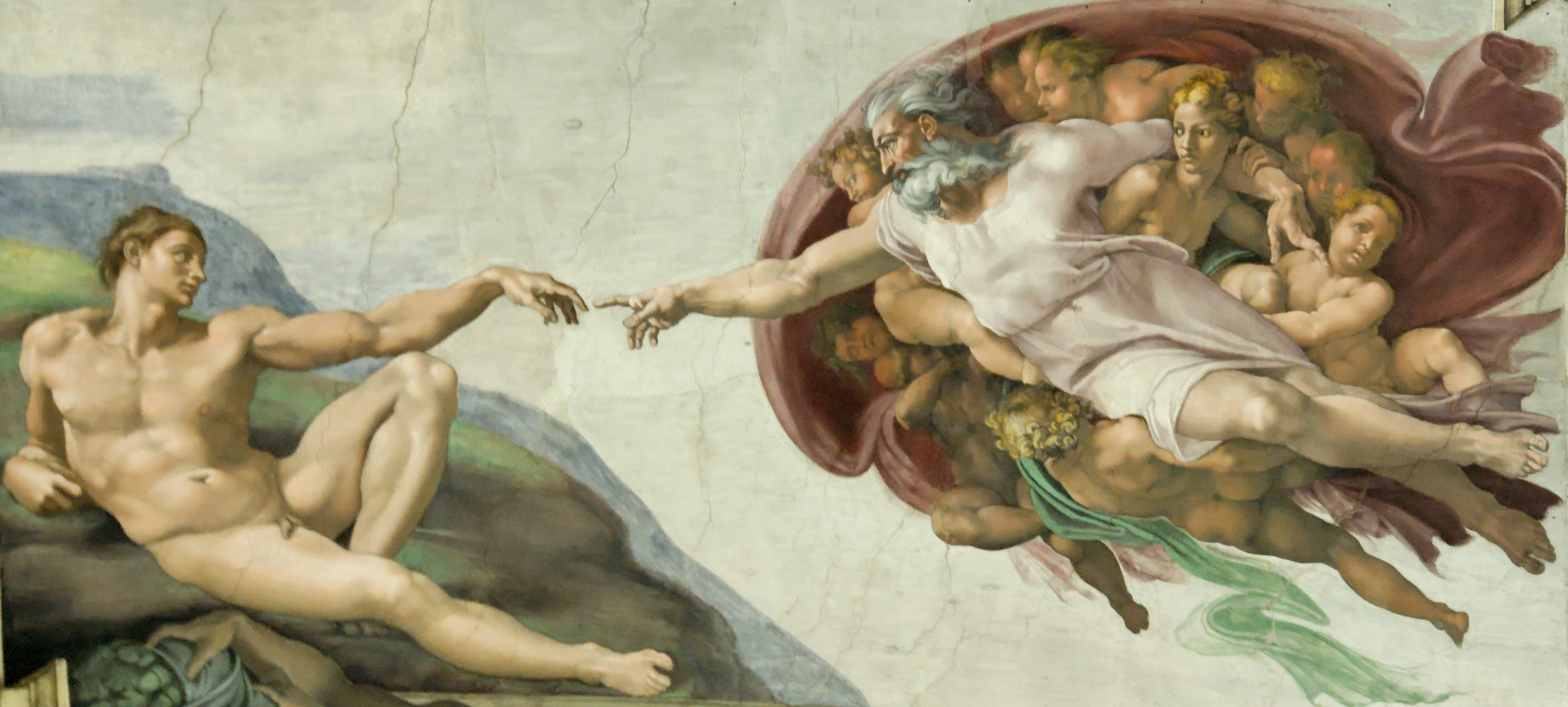 an introduction to the analysis of michelangelo sistine chapel ceiling The measure of genius: michelangelo's sistine chapel at 500 michelangelo began painting the ceiling frescoes in rome's sistine chapel in 1509.