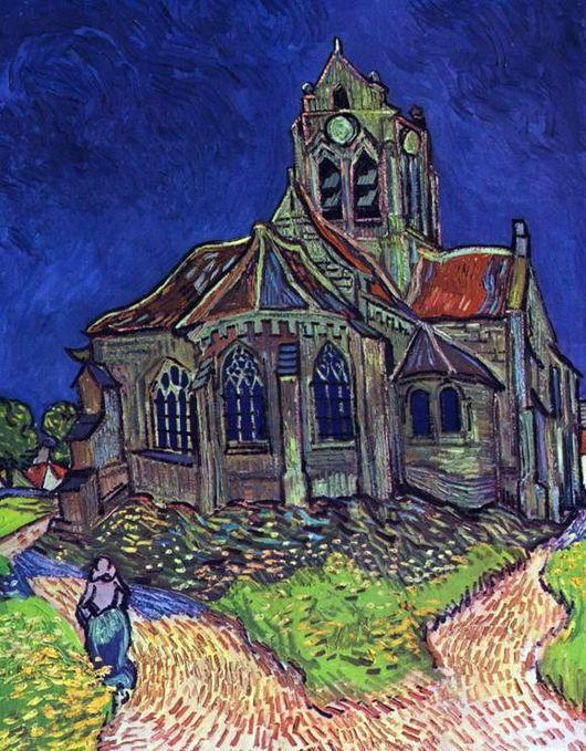Церковь в Овере. Ван Гог