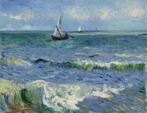 Лодки в море. Ван Гог