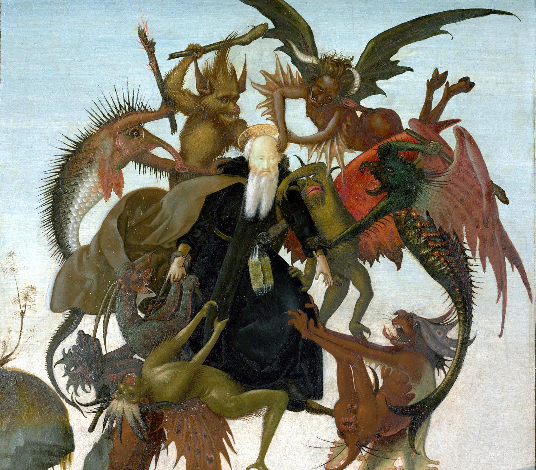 Мучения святого Антония. Фрагмент.