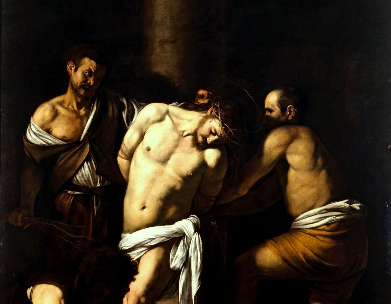 """Картина """"Бичевание Христа"""". Фрагмент."""
