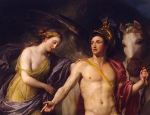 Персей и Андромеда. Фрагмент.