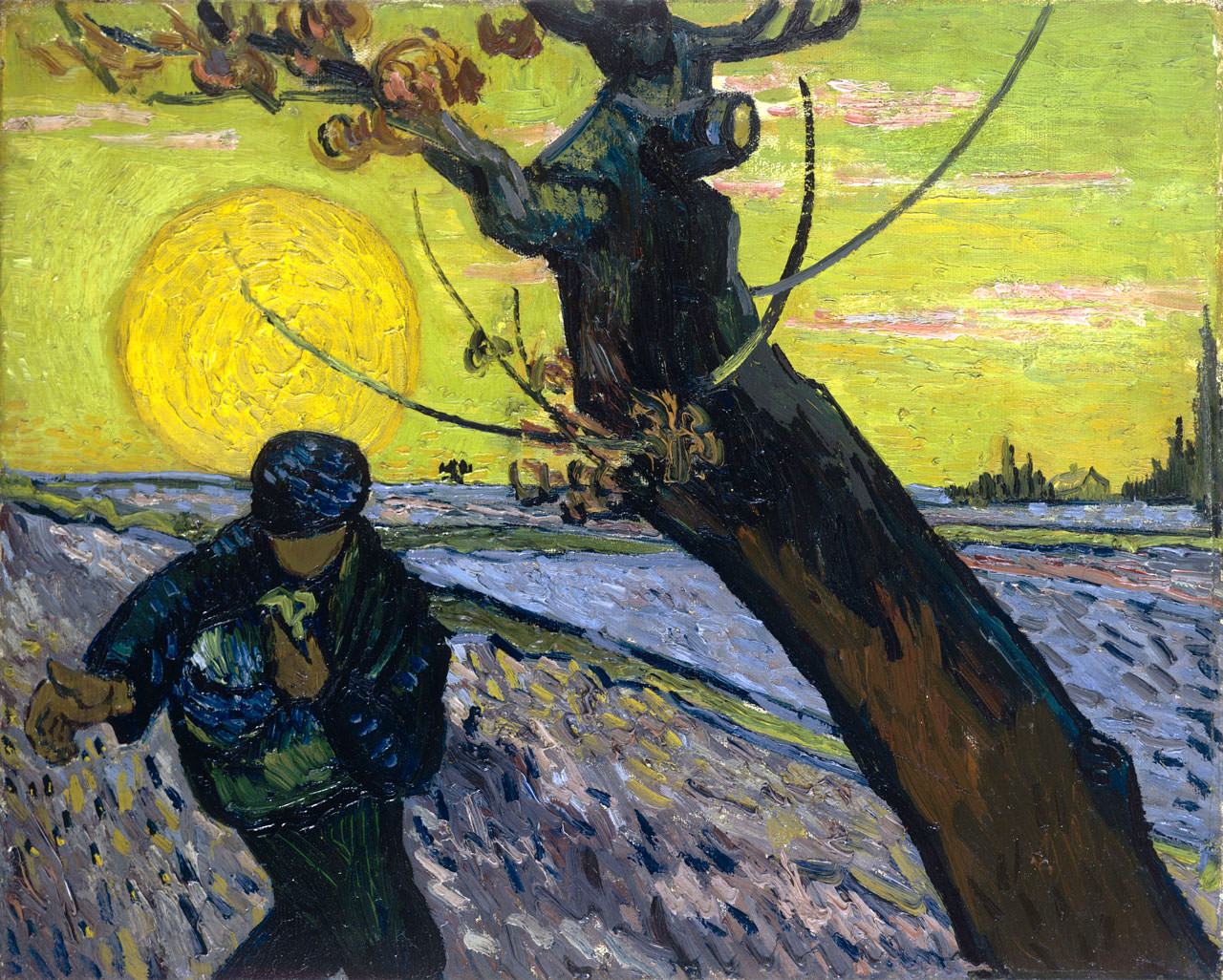 Сеятель. Ван Гог
