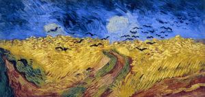 Пшеничное поле с воронами. Ван Гог