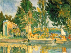 Жа де Буффан, бассейн. Сезанн