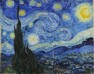 Звездная ночь. Ван Гог