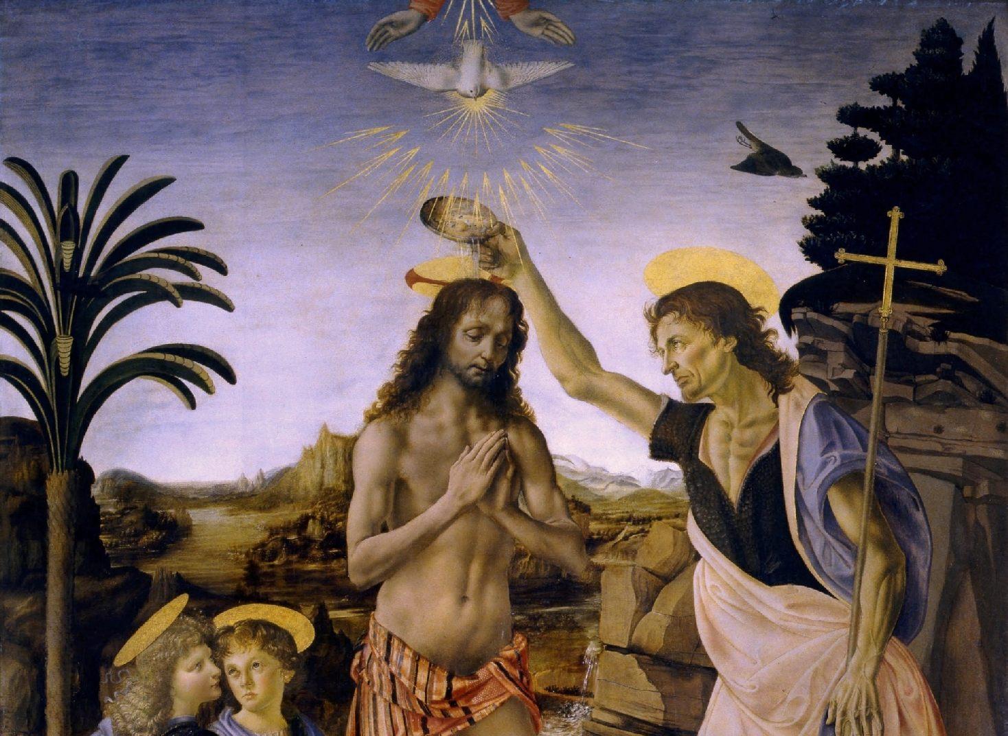 Крещение Христа. Фрагмент.