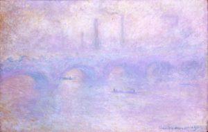 Мост Ватерлоо. Эффект тумана. Моне