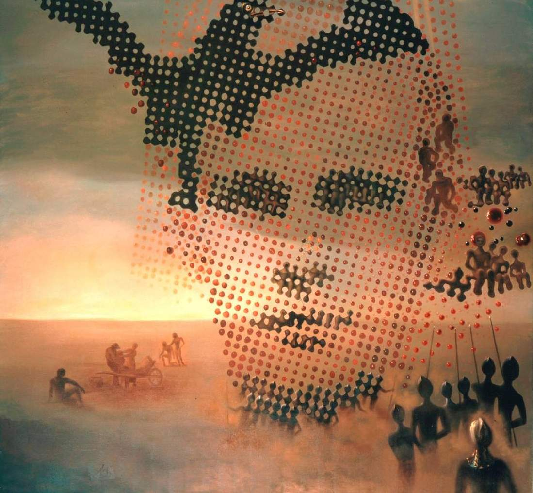 Портрет моего умершего брата. Фрагмент.
