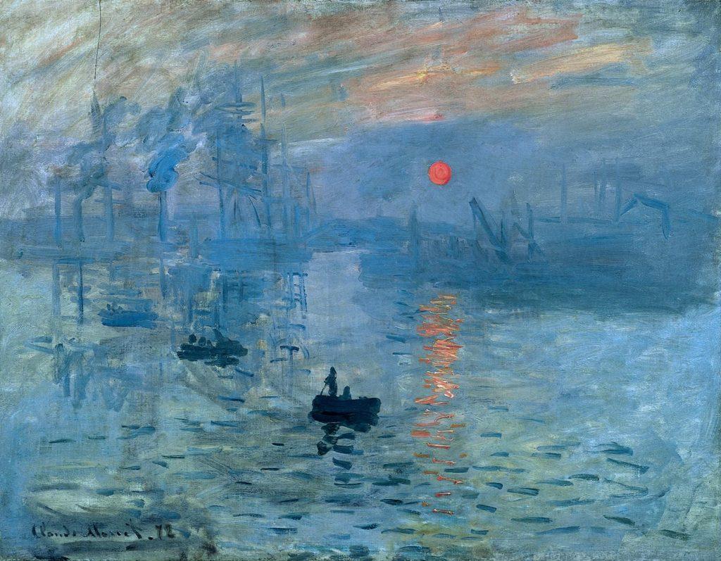 Впечатление. Восход солнца. Клод Моне