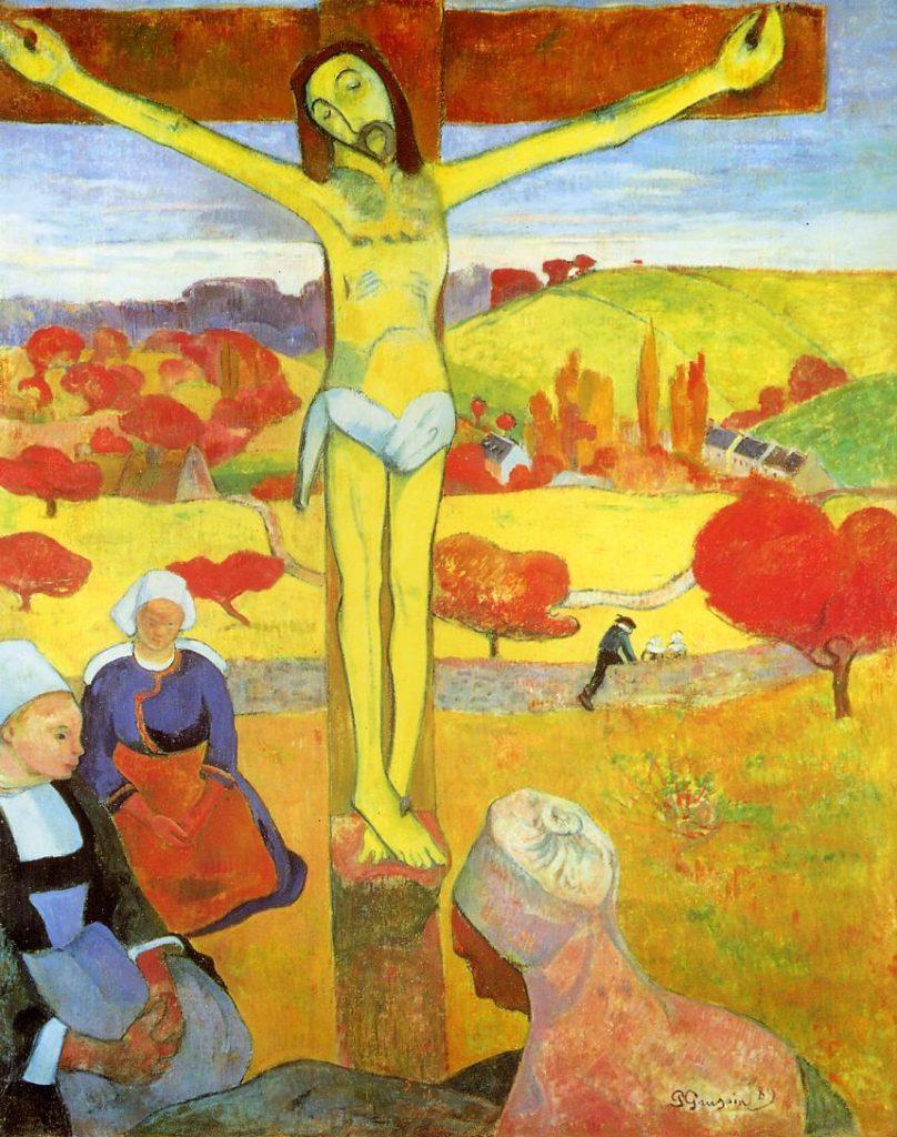 Желтый Христос. Гоген.