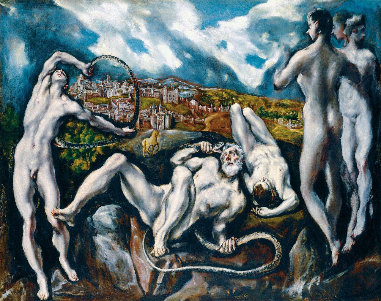Лаокоон. Эль Греко.
