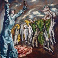 Открытие пятой печати. Эль Греко.