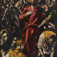 Снятие одежд с Христа. Эль Греко.