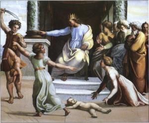 Суд Соломона, Рафаэль