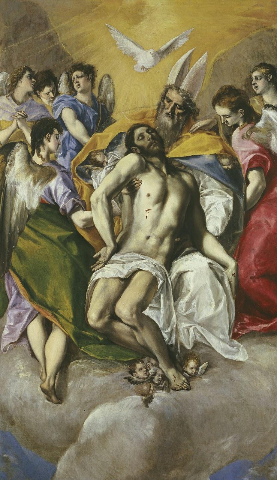 Святая Троица. Эль Греко.