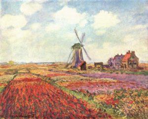 Тюльпаны Голландии. Клод Моне