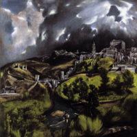Вид Толедо. Эль Греко.