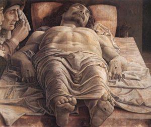Оплакивание мертвого Христа. Андреа Мантенья.