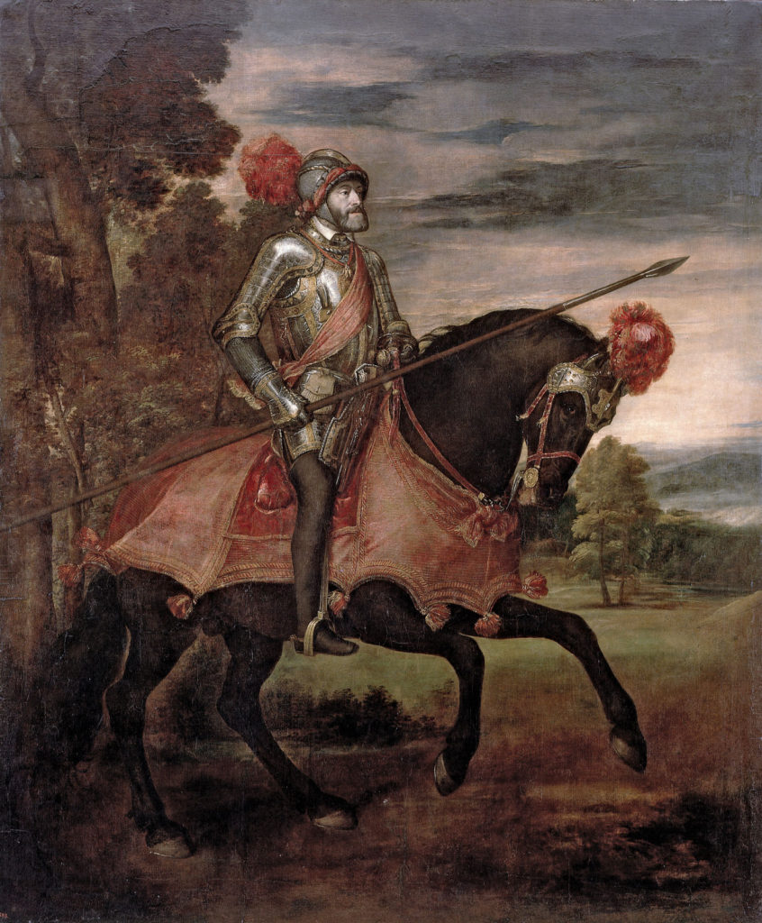 Портрет Карла V. Тициан.