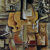 Скрипка и виноград. Пабло Пикассо