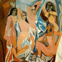 Авиньонские девицы. Пикассо