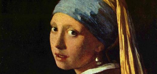 Девушка с жемчужной сережкой. Фрагмент.