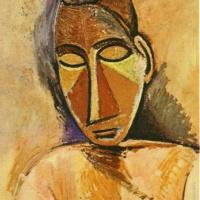Бюст женщины. Пикассо