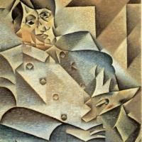 Портрет Пикассо. Хуан Грисс