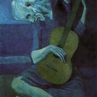 Старый гитарист Пикассо.