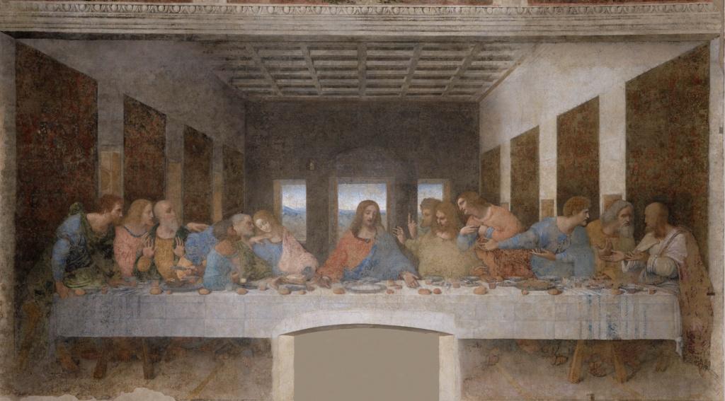 Тайная вечеря. Леонардо.